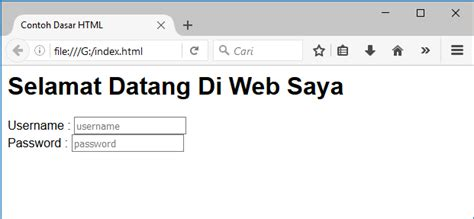 tutorial java web bahasa indonesia web programing part 2 tutorial html untuk pemula bahasa