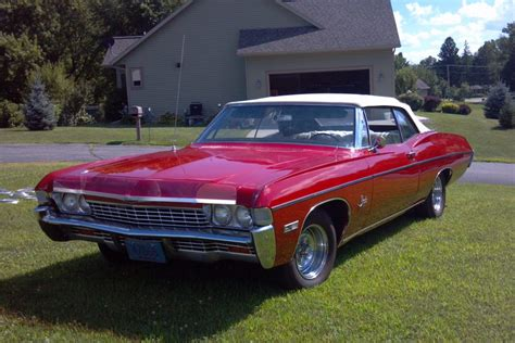 1968 chevy impala ss convertible for sale 1968 ss impala convertible 427 for sale autos post