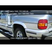 2001 GMC Sierra 1500 SL Ext Cab Short Bed 2WD  For Sale