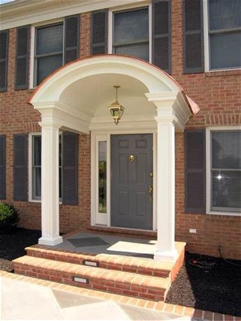 1000 Images About Front Porch Entrance On Pinterest House Plans With Arched Porch