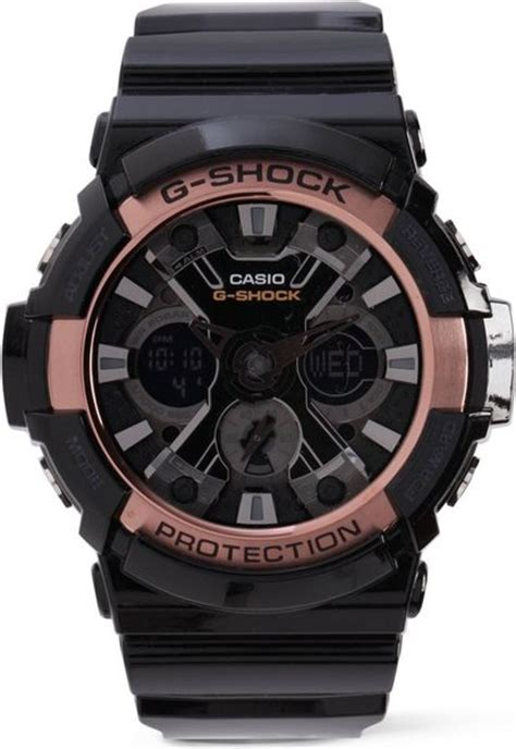 g shock ga200 black gold g shock ga200 black and gold in black for