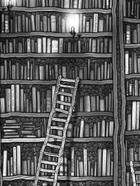 black and white library wallpaper kindle wallpaper ad wallpapersafari