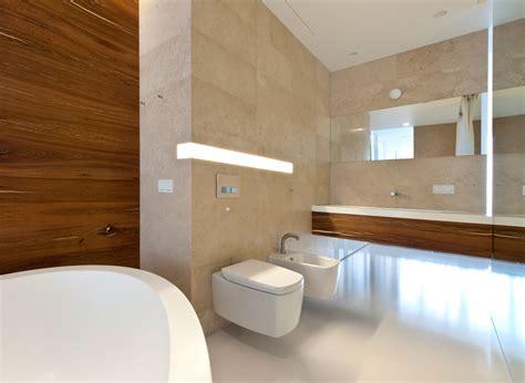 modernes badezimmer licht fensterbank holz badezimmer bvrao