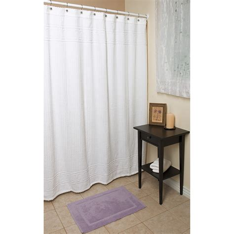 terry shower curtain espalma terry shower curtain 72x72 cotton 6664a save 62