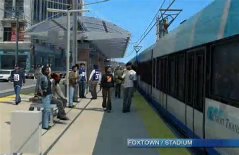 Detroit Light Rail by Compromise Detroit Light Rail Gets Thumbs Up From