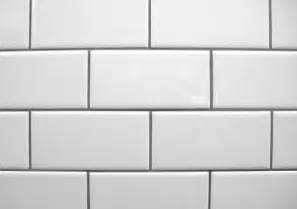 How To Install Subway Tile Backsplash Kitchen White Subway Tile With Contrasting Gray Grout La Salle