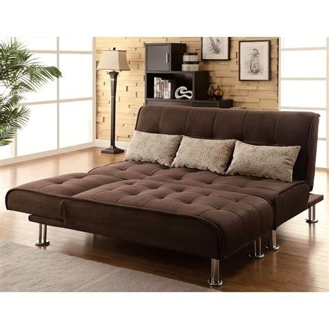 Microfiber Sofa Review by Brown Microfiber Sofa Bed Set By Coaster Furniture 1