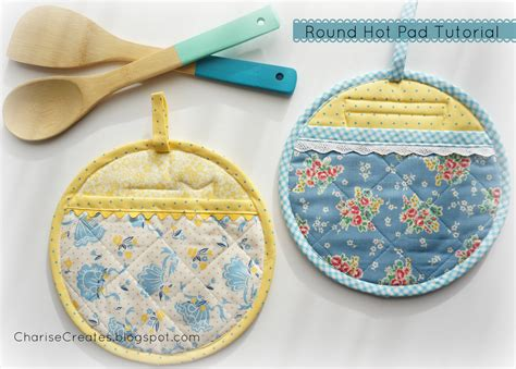 Handmade Pot Holders Patterns - charise creates handmade gifts vintage kitchen pads