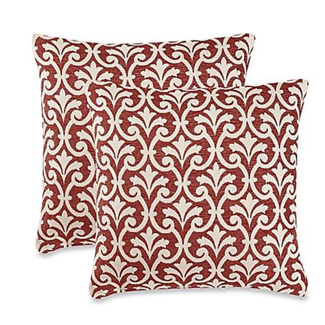 red throw pillows for bed amber red throw pillows set of 2 bed bath beyond