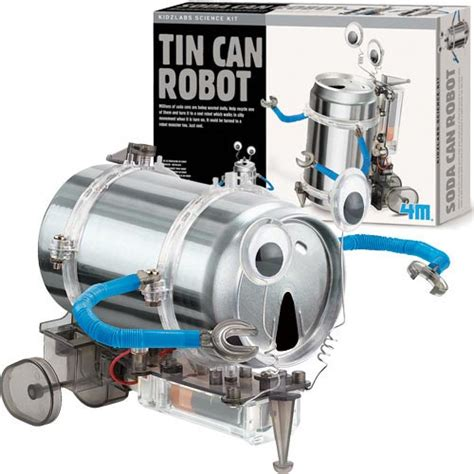 tin can robot 5 8 tin can robot green science kit