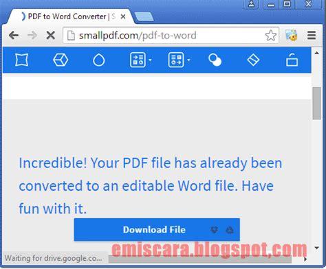 convert pdf to word yang terbaik cara convert pdf ke word online emiscara com