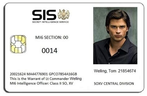 mi6 id card template 007 mi6 id card brosnan images frompo