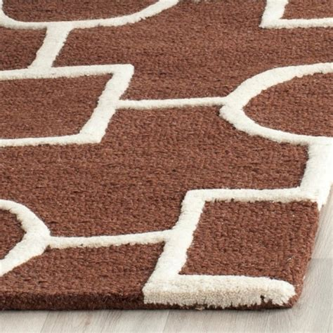 square wool rug safavieh cambridge 8 square tufted wool rug cam143h 8sq