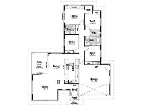 sovereign homes floor plans sovereign 21 design detail and floor plan integrity new homes mid coast