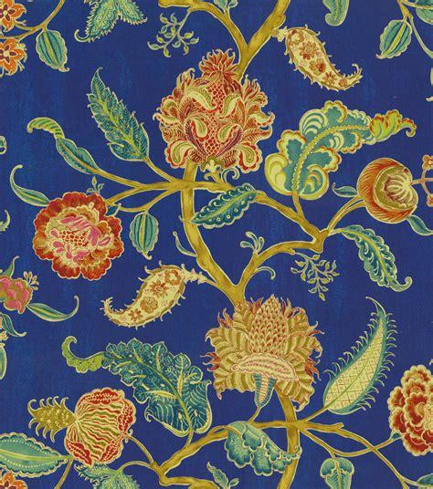 asian upholstery fabric prints home dec print fabric waverly asian myth evening sky jo ann