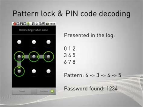 pattern pin or password ophcrack rainbow tables come recuperare la password di