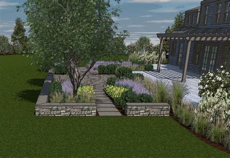 3d home landscape design 5 3d renderings edgewater landscape design