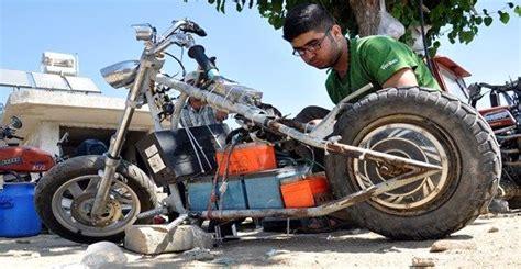 kendini sarj eden motosiklet tasarladi