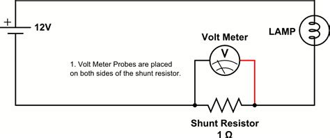 shunt resistor measuring current without breaking your multimeter my contraption