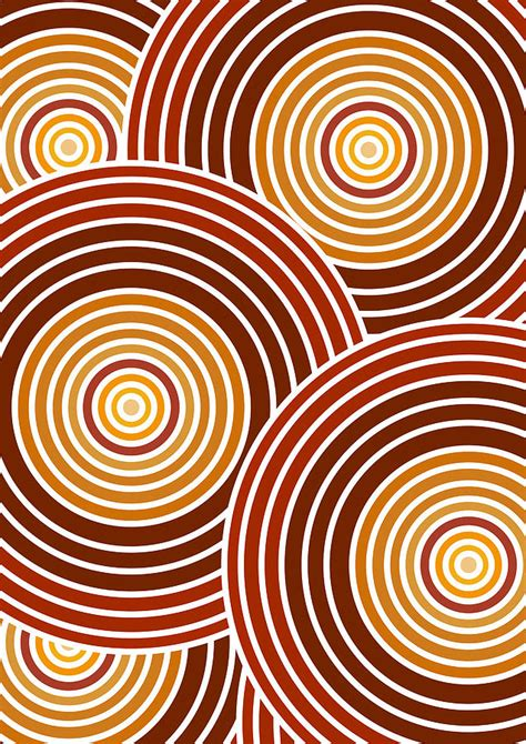 abstract paintings with circles abstract circles by frank tschakert