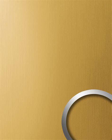 wandverkleidung metall wandverkleidung metall optik wallface 15299 deco gold matt