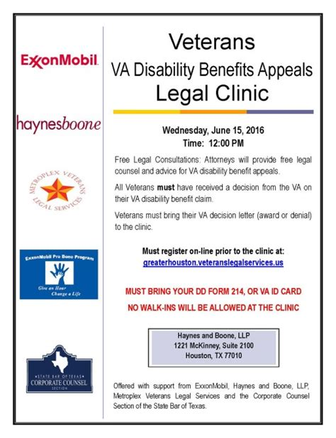 state bar of texas family law section free legal clinic for veterans in houston june 15 texas
