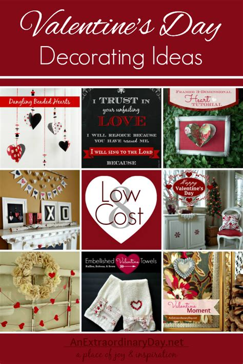 Vintage Christmas Home Decor by 8 Low Cost Diy Valentine S Day Decorating Ideas An