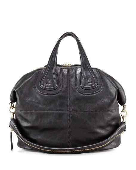 givency nightangle givenchy nightingale medium leather satchel bag black