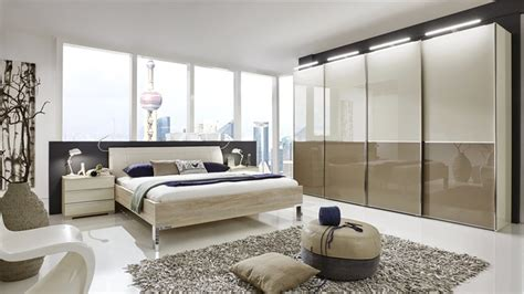 glass bedroom set nyx bedroom set choice of glass finish or mix with