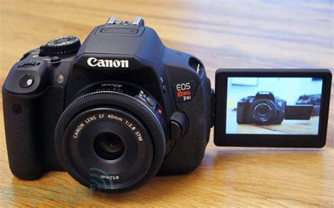 Kamera Dslr Canon Eos Rebel T4i canon eos rebel 4ti on engadget deutschland