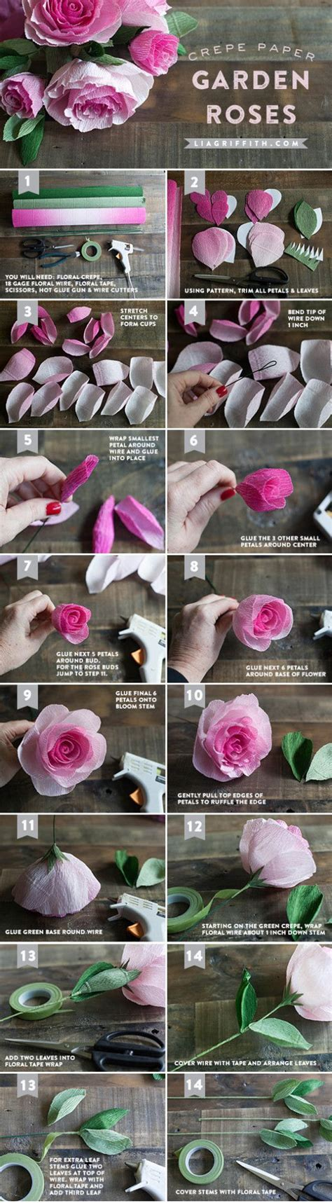 crepe paper flower tutorial new and improved 96 best flores papel crepe images on pinterest