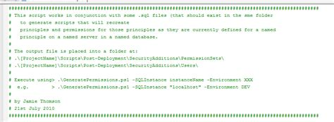 powershell comment section jamie thomson a strategy for managing security for