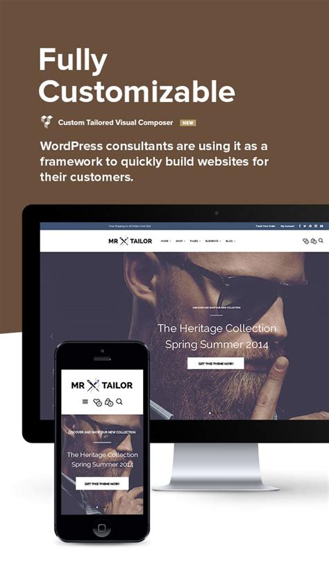 themeforest visual composer mr tailor woocommerce shop theme