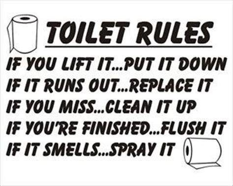comfort room rules funny printable restroom quotes quotesgram
