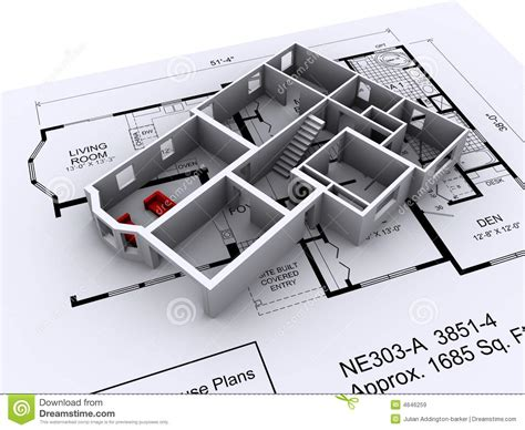 blueprint house house layout royalty free stock images image 4646259