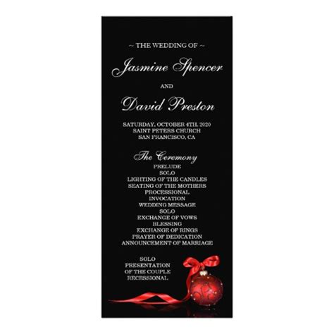 paper invitation templates wedding program template 4x9 25 paper