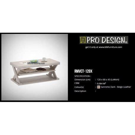 Meja Tv Prodesign meja coffee rmvct 120x prodesign sale promo