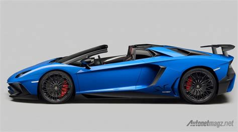 Lamborghini Side View Lamborghini Aventador Superveloce Roadster Side View