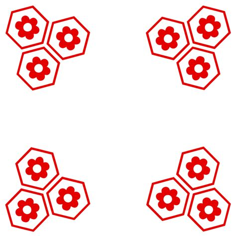 Square Flowy Motif 4 simple sesshomaru flower pattern square by chriswillar on deviantart
