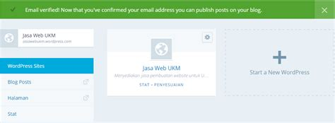 cara membuat email wordpress cara membuat wordpress melalui wordpress com ebenhaezer