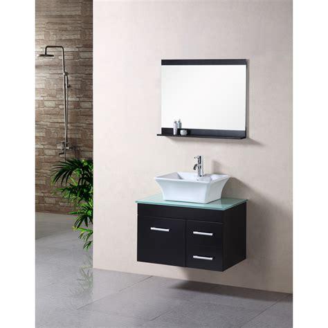 30 modern bathroom vanity design element madrid 30 quot single sink bathroom vanity set