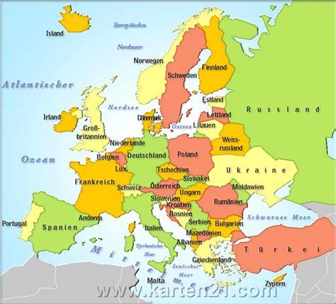 maps de europa mapa en europa