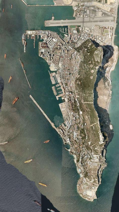 gibraltar satellite photo travelingreportercom