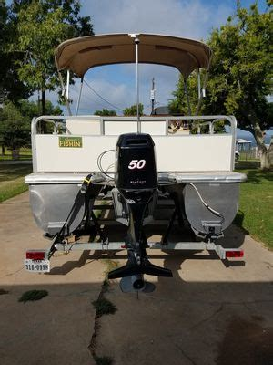 used bass boats houston area new and used pontoon boats for sale in houston tx offerup