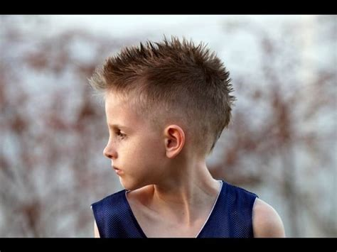 pix of boys mohawk hair styles 43 trendy and cute boys hairstyles for 2017