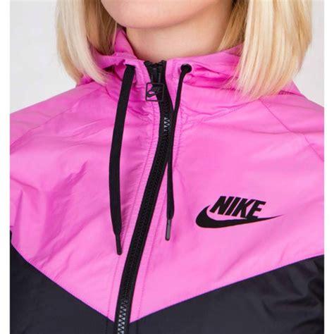 Jaket Nike Just Doit jacket hi black and pink just do it wind windrunner