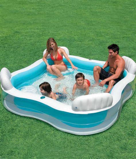 Family Swim Poll intex swim centre family lounge pool buy intex swim centre family lounge pool at low