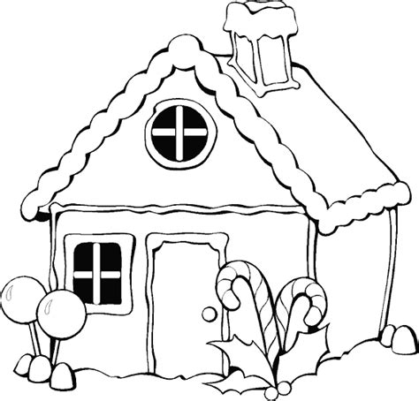 sketchbook untuk gingerbread раскраска пряничный домик раскраски новогодние