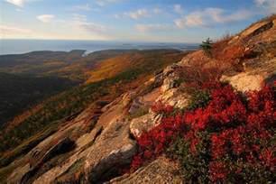 Cadillac Mountain Acadia Cadillac Mountain At Acadia National Park