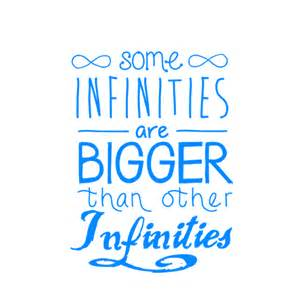 Some Infinities Are Bigger Than Other Infinities Some Infinities Are Bigger Than Other Infinities By